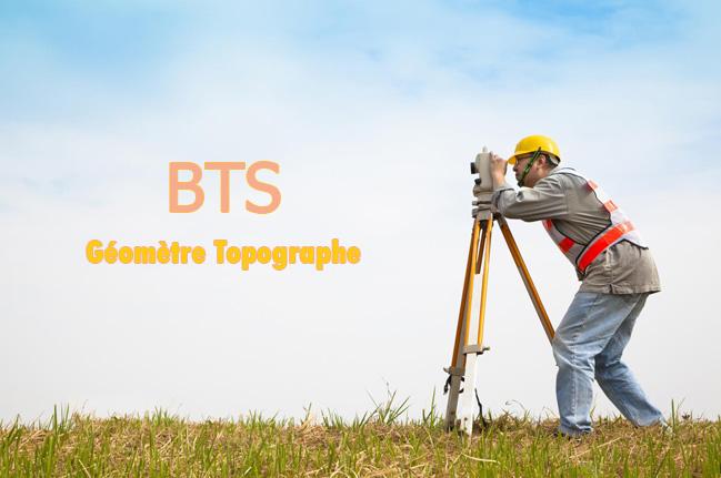BTS géomètre topographe